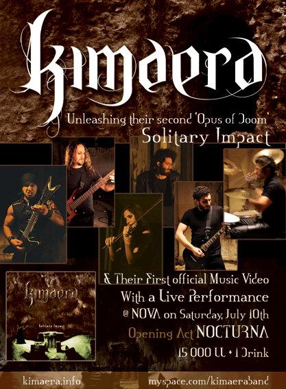 Kimaera - Solitary Impact