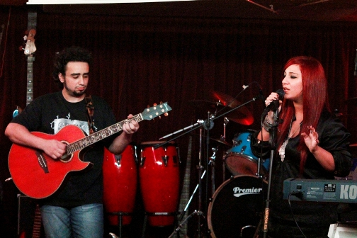 April live at Quadrangle 2010