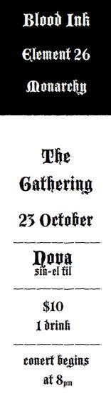 The Gathering at Nova 2010